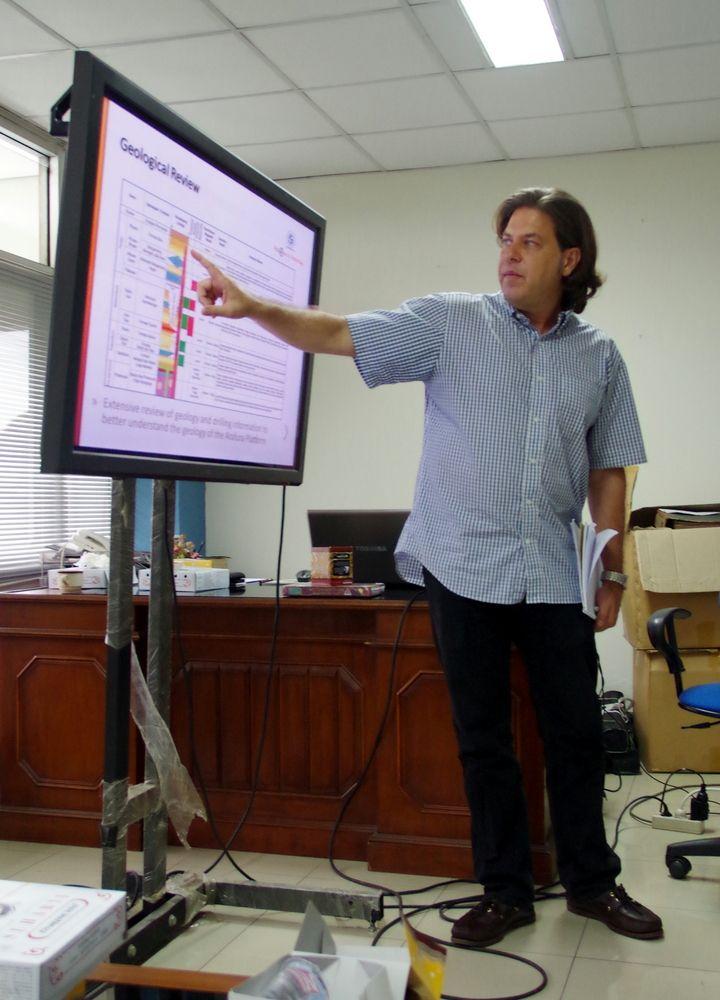 Jayson Meyers presenting