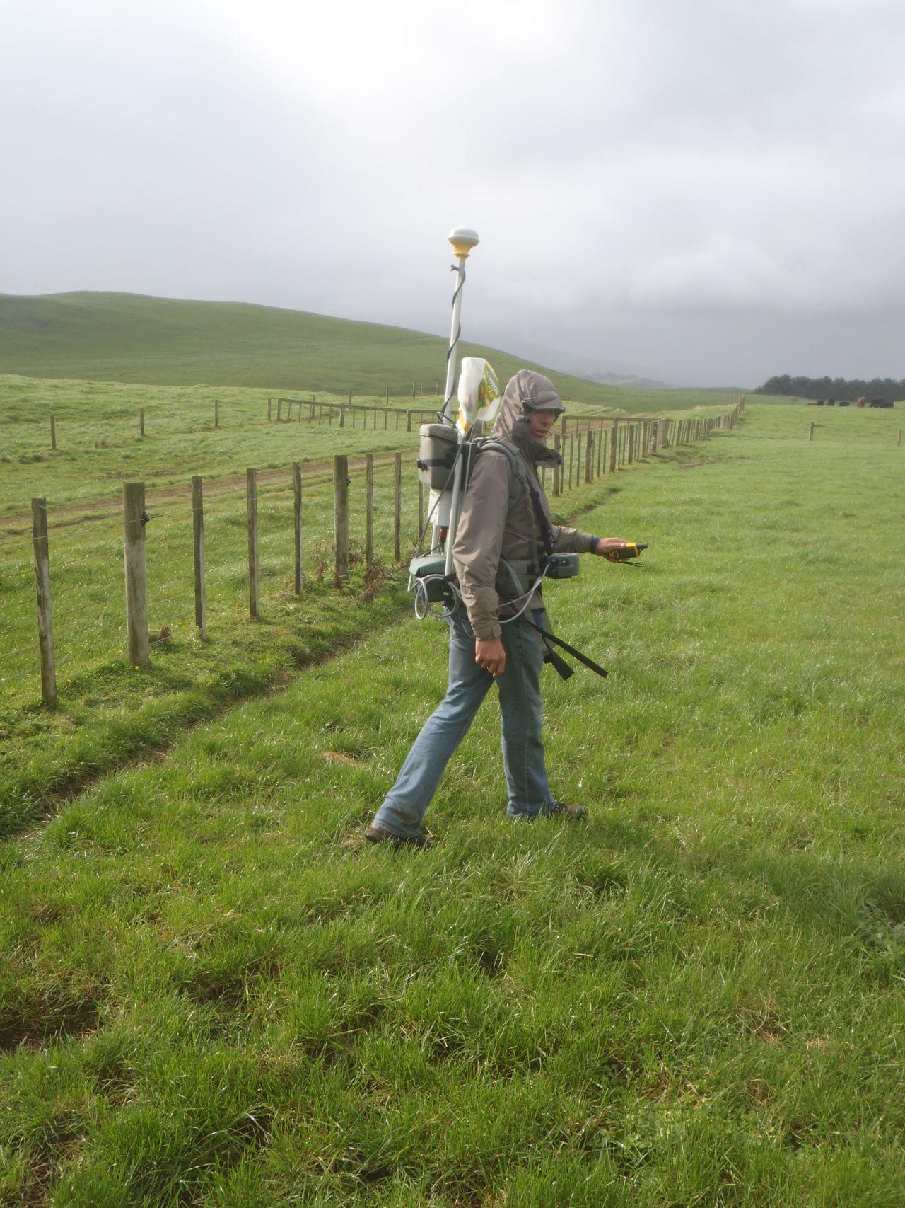 Ground magnetic surveying